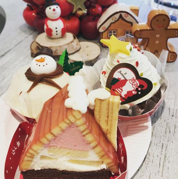 患者様からのクリスマスケーキの差し入れ